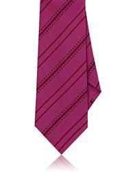 Dolcepunta - Dotted & Striped Silk Necktie - Lyst