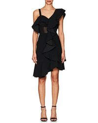 Proenza Schouler - Ruffled Cady One-shoulder Dress - Lyst