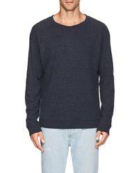 Max 'n Chester - Rib-knit Linen-blend T - Lyst