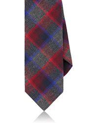 Massimo Bizzocchi - Plaid Cotton Flannel Necktie - Lyst