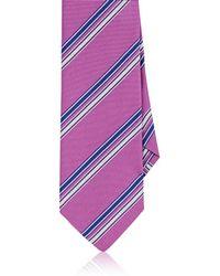 Etro | Striped Silk Faille Necktie | Lyst