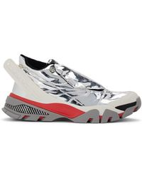CALVIN KLEIN 205W39NYC - Cander Specchio Leather Trainers - Lyst