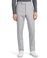 Thom Browne - Corded Cotton Slim Trousers - Lyst