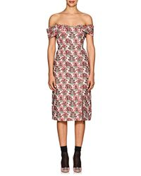 Erdem - Teagan Floral Fil Coupé Woven Midi-dress - Lyst