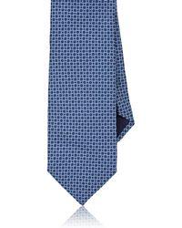 Barneys New York - Circles Silk Twill Necktie - Lyst
