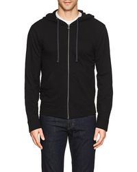 James Perse - Cotton Terry Zip - Lyst
