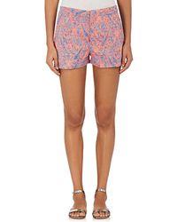 OndadeMar - Paisley Jacquard Shorts - Lyst