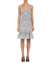J. Mendel - Lace Sleeveless Dress - Lyst
