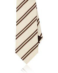 Petronius - Striped Silk Necktie - Lyst