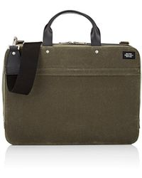 Jack Spade - Waxwear Slim Briefcase - Lyst