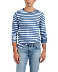Zadig & Voltaire - Hector Raye Logo Striped Cotton T-shirt - Lyst