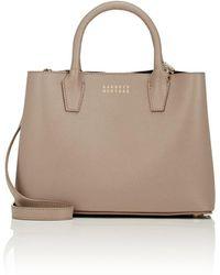 Barneys New York - Jane Leather Satchel - Lyst