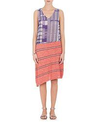 Rhié - Silk & Cotton Shift Dress - Lyst