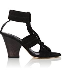 Zero + Maria Cornejo - Lupita Suede Sandals - Lyst