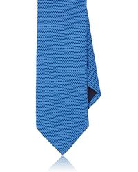 Barneys New York - Geometric-dot Silk Satin Necktie - Lyst