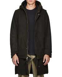 Chapter - Heavyweight Cotton Canvas Coat - Lyst