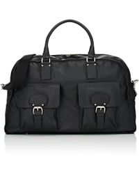 Barneys New York - Leather Duffel Bag - Lyst