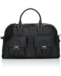Barneys New York - Leather Duffel Bag - Lyst