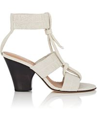 Zero + Maria Cornejo - Lupita Nubuck Sandals - Lyst