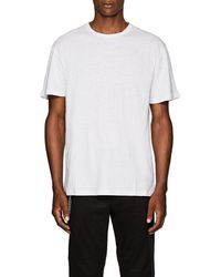 Chapter - Slub Linen-cotton T-shirt - Lyst