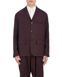 Marni - Wool Three-button Unstructured Sportcoat - Lyst