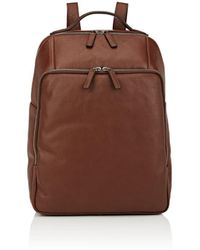 Barneys New York - Leather Backpack - Lyst