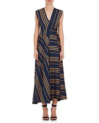 Zero + Maria Cornejo - Eve Mosa Striped Maxi Dress - Lyst