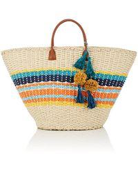 Barneys New York - Provence Straw Tote Bag - Lyst