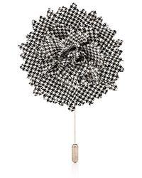 Lanvin Carnation Tiepin - Gray