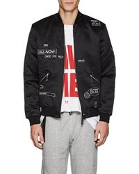 Blood Brother - Loading Satin Bomber Jacket - Lyst
