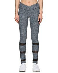 Electric Yoga - Mesh-inset Slim Leggings - Lyst