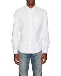 Zadig & Voltaire - Sigmund Cotton Oxford Button-down Shirt - Lyst