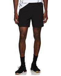 Neil Barrett - Striped Tech-taffeta Running Shorts - Lyst