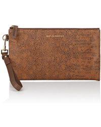 Want Les Essentiels De La Vie - Aquino Leather Double-zip Wallet - Lyst