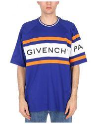 2f04a7e9ea80f Lyst - Givenchy Star Appliqué Polo Shirt in Black for Men