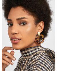 BaubleBar - Marisela Resin Hoop Earrings - Lyst