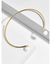 BaubleBar - Perla 18k Gold Plated Bracelet - Lyst