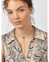 BaubleBar - Madeline Druzy Y-chain Necklace - Lyst