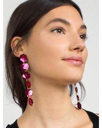 BaubleBar - Posy Sequin Drop Earrings - Lyst