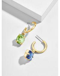 BaubleBar - Cora Asymmetrical Huggie Hoop Earrings - Lyst