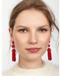 BaubleBar - Mini Granita Tassel Earrings - Lyst