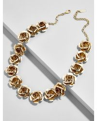 BaubleBar - Buttercup Flower Statement Necklace - Lyst