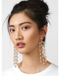 BaubleBar - Shiori Flower Drop Earrings - Lyst