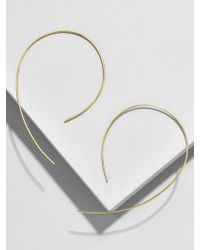 BaubleBar - Corona Everyday Fine Threader Hoops - Lyst