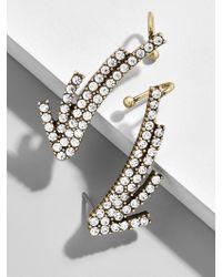 BaubleBar - Astrid Crystal Crawler Earrings - Lyst