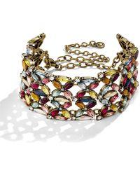 BaubleBar - Fleur Crystal Bracelet - Lyst
