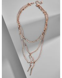 BaubleBar - Amber Y-choker Necklace - Lyst