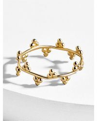 BaubleBar - Tiara 18k Gold Plated Ring - Lyst