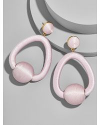 BaubleBar - Mariela Hoop Earrings - Lyst