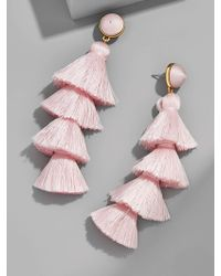 BaubleBar - Gabriela Stud Tassel Earrings - Lyst